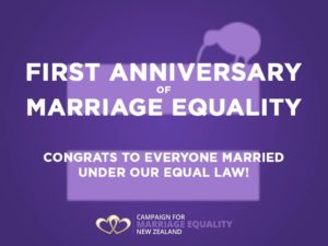 Campaign for Marriage Equality First Anniversary